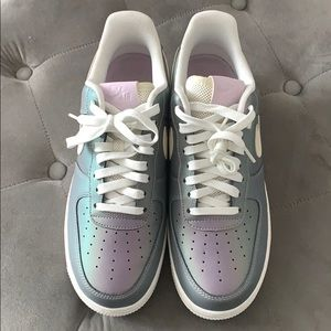 Nike Air Force Iced Lilac. Never worn. Mens size 8